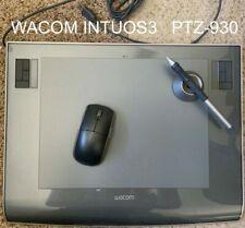 Wacom Intuos3 PTZ-930 TABLET Wireless GRIP PEN Stand, USB Adobe Photoshop Corel