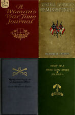 148 RARE OLD AMERICAN CIVIL WAR DIARIES & JOURNALS - HISTORY & GENEALOGY ON DVD