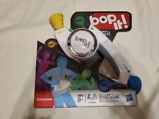 BOP IT! Talking Handheld Electronic Reflex Game White 2008 Milton Bradley - NEW!