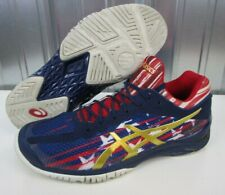 NICE ASICS Gel Court FF LE American Flag USA Blue Red White Men's Shoes size 8.5
