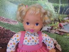 "Baby ""I Know!"" Toy Biz, Electronic Interactive Soft, Vinyl  14""Inch Doll"