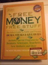 Reader's Digest Free Money Free Stuff 2007 Hardcover Very Good Condition