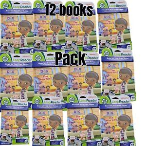 LeapReader 12 Bulk Book Pack Doc McStuffins The New Girl LeapFrog Book only NEW