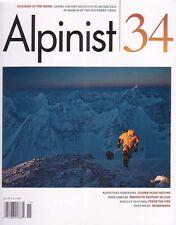 Mountaineering: Climbing, Alpinist Magazine #34 - Brand New, Unread
