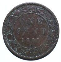 1881 H Canada One 1 Cent - Victoria - Lot 1171