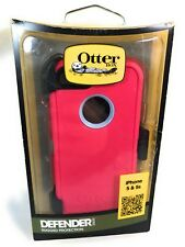 OtterBox Defender Series Case,iPhone 5/5s,Powder Grey/Rasberry Pink,OEM,Open Box