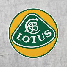Lotus Automotive Vinyl Decal Sticker Racing Logo Laptop Bottle Car Window