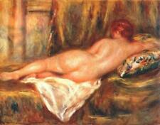 "perfect 36x24 oil painting handpainted on canvas""reclining nude""@15168"