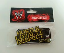 WWE - John Cena Hustle Loyalty Respect Magnet 2009 Raw Wrestling Superstar Item