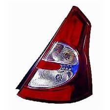 Feu arrière droit pour DACIA SANDERO I, 2008-2012, (rouge/blanc), Neuf