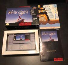 Final Fantasy: Mystic Quest (SNES) CIB