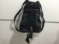 Big Buddha ladies black NWT gold detail back pack