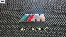CHROME BMW M MEDIUM Sports Decal Sticker Badge Sticker M1 M3 M4 M5 M6 X3 X5 X6