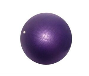 "9"" Pilates Overball Mat Class Reformer Yoga Barre Inner Thigh Abdominal Strength"