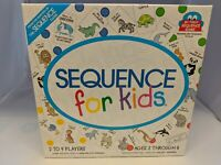 SEQUENCE FOR KIDS Game 2001 Edition Complete Ages 3-6