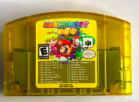Mario Party 1 2 3 Super 18 in 1 VideoGame Cartridge Nintendo N64 Tested Working