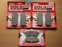SINTERED FRONT & REAR BRAKE PADS For BMW R1100 S (Non ABS) 2001 2002 2003 R1100S