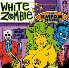 Night Crawlers [Maxi Single] by White Zombie (CD 1992, Geffen) OUT OF PRINT!