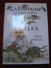 FABLES - LA FONTAINE - Illustré par Adolf BORN - GRÜND - 2000