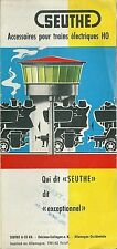 Catalogue Seuthe 1961 1962 train HO catalogo katalog jouet ancien rare