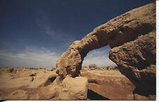 POST CARD OF A NICE ARCH STONE FORMATION IN THE DESERT