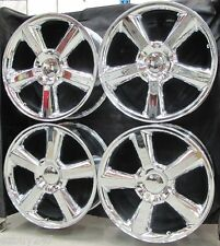 "20"" NEW CHEVY GMC ESCALADE FACTORY STYLE NEW CHROME WHEELS RIMS 5308 Free Shippi"