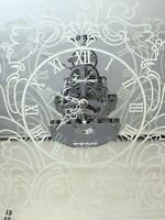 Innermost London Fantome Shelf Clock Designer Lee Ling Wan Glass Mirrored Back