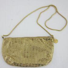 Metallic Gold Mesh Regale Handbag Purse