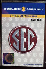 Official Licensed NCAA College Football Texas A&M SEC Conference Patch