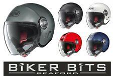 NOLAN N21 VISOR Mini-Jet Open Face Scooter/Motorbike Helmet with Sun Visor 2020