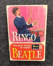 THE BEATLES Ringo Starr Wildest Skins in Town 1964 Revell Model Kit