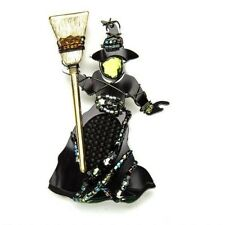 Wizard of Oz Wicked Witch of West pin jewelry pin Liztech beautiful hard to find