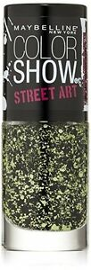 Maybelline Color Show Nail Lacquer - Street Art Collection - Green Graffiti # 32