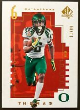 2014 SP Authentic #FW-21 DeAnthony Thomas Future Watch Gold RC 11/99 Oregon