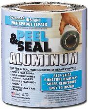Peel and Seal Instant Waterproof Repairs 6-in x 25-ft Aluminum Roll Flashing