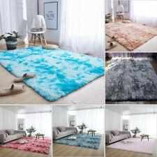 Shaggy Large Rug Area Rugs Fluffy Tie-Dye Floor Soft Carpet Living Room Bedroom