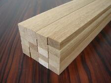 20 Rechteckleisten Eiche 1150x24x14mm Holzleisten Bastelholz Leisten Holzstäbe