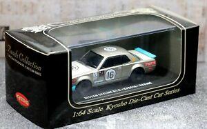 Kyosho 1/64 Beads Collection Nissan Skyline 2000 GT-R Racing KPGC10 1969 No.16