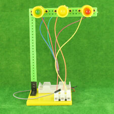 Physics Experiment Traffic Lights DIY ABS Materials Educational Toys Kids Gift