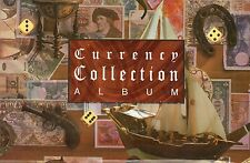 PRIZM CURRENCY COLLECTION ALBUM FOR BANK NOTES IMPORTED QUALITY