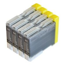 4 Patronen bk  Brother LC970 LC1000 DCP135C MFC240C DCP130C DCP150C MFC235C MFC4