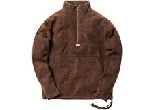 Kith Classic Half-Zip Leopard Pullover - Cheetah, Size Large, BRAND NEW!
