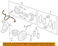 NISSAN OEM 03-07 Murano ABS Anti-lock Brakes-Front Speed Sensor 47910CA000
