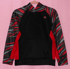 Russell L 10/12 Boys Black & Red Athletic Hoodie Long Sleeves Great condition!