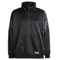 *NEW* Nike Air Jordan Jacket Wings Classics Black Satin Men's Size Large L $125