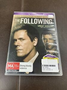 THE FOLLOWING - Season 1 4 x DVD Set Complete First Series One