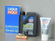Sistema de mantenimiento PIAGGIO ZIP 50 4t aceite bujía Servicio Inspección