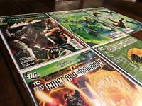 Green Lantern Emerald Warriors lot #7-11 (DC Comics 2010) War of Green Lanterns
