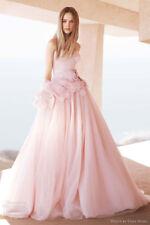 Vera Wang blush wedding dress, sz. 6