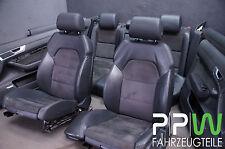 AUDI A6 4F C6 Sièges en cuir Sport aménagement intérieur alcantara / S21